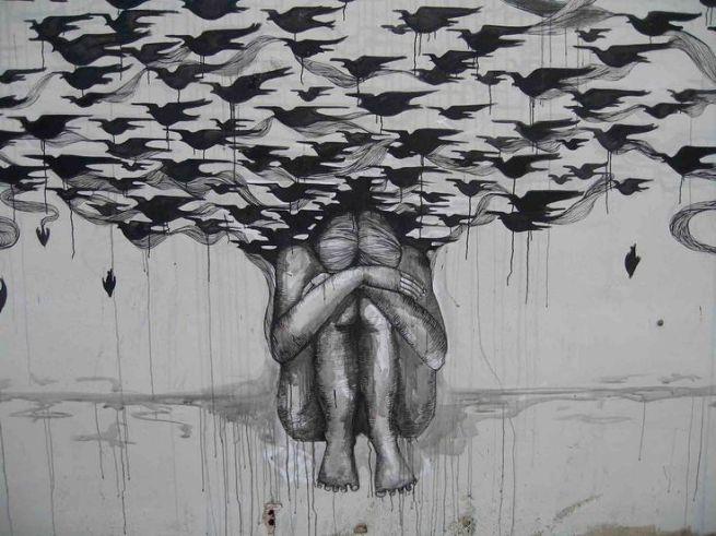 """muro8.b"" by Hyuro, street artist"