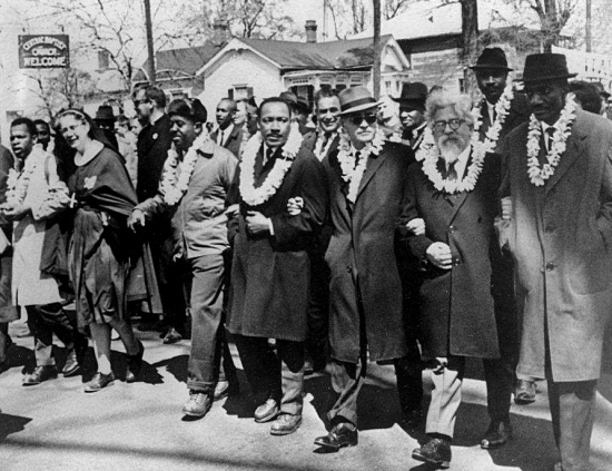 King-Heschel-march