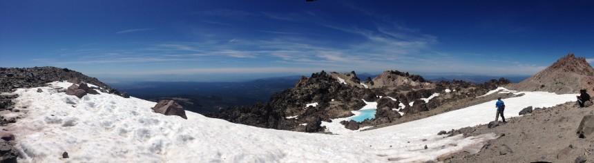 Top of Mount Lassen